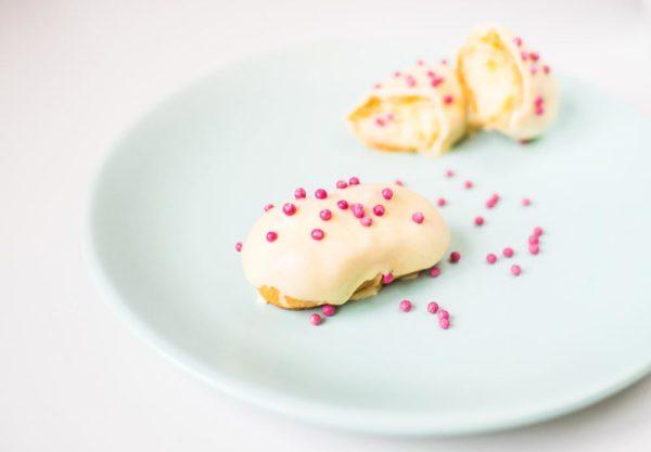 Mini ecler cu vanilie